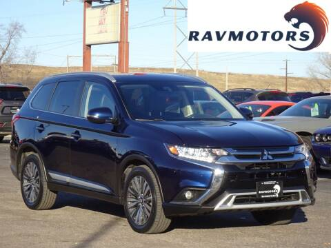 2020 Mitsubishi Outlander for sale at RAVMOTORS in Burnsville MN