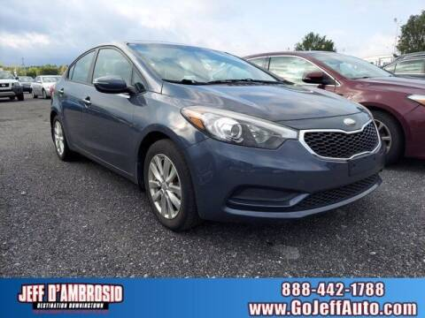 2014 Kia Forte for sale at Jeff D'Ambrosio Auto Group in Downingtown PA