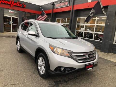 2014 Honda CR-V for sale at Goodfella's  Motor Company in Tacoma WA