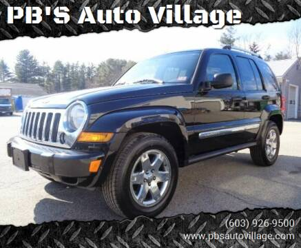 2005 Jeep Liberty for sale at PB'S Auto Village in Hampton Falls NH