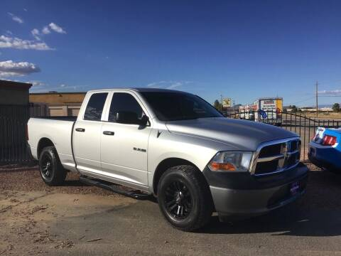 2010 Dodge Ram Pickup 1500 for sale at SPEND-LESS AUTO in Kingman AZ