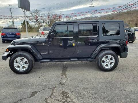 2007 Jeep Wrangler Unlimited for sale at Knoxville Wholesale in Knoxville TN