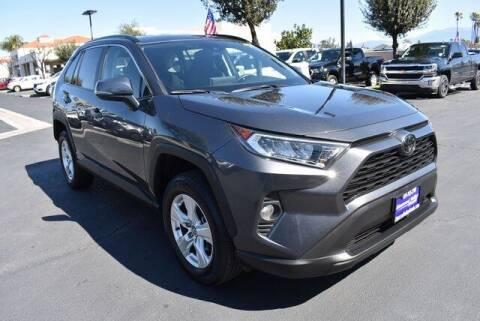 2020 Toyota RAV4 for sale at DIAMOND VALLEY HONDA in Hemet CA