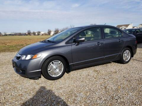 2010 Honda Civic for sale at CALDERONE CAR & TRUCK in Whiteland IN