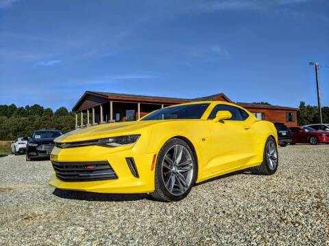2018 Chevrolet Camaro for sale at Delta Motors LLC in Jonesboro AR