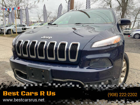 2015 Jeep Cherokee for sale at Best Cars R Us in Plainfield NJ