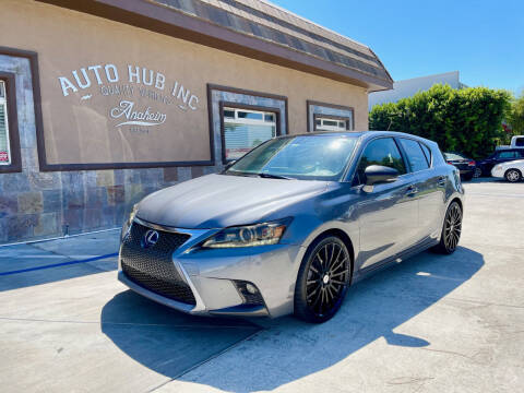 2013 Lexus CT 200h for sale at Auto Hub, Inc. in Anaheim CA
