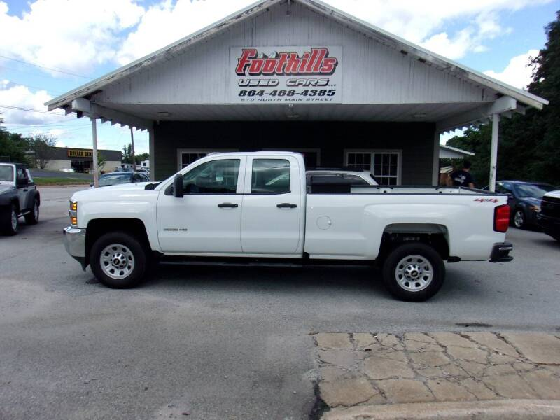 2017 Chevrolet Silverado 3500HD for sale at Foothills Used Cars LLC in Campobello SC