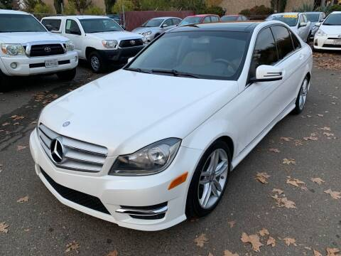2012 Mercedes-Benz C-Class for sale at C. H. Auto Sales in Citrus Heights CA
