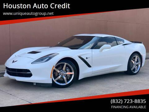 2015 Chevrolet Corvette for sale at Houston Auto Credit in Houston TX