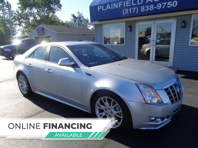2012 Cadillac CTS for sale at Plainfield Auto Sales in Plainfield IN