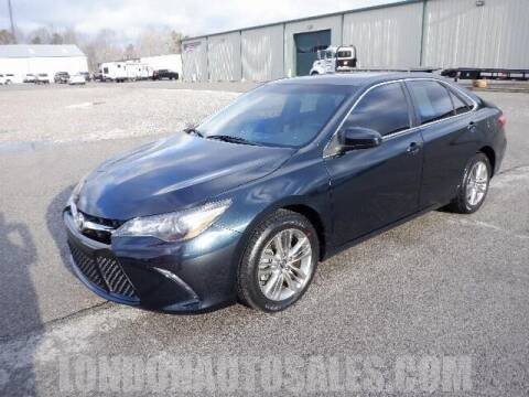 2017 Toyota Camry for sale at London Auto Sales LLC in London KY