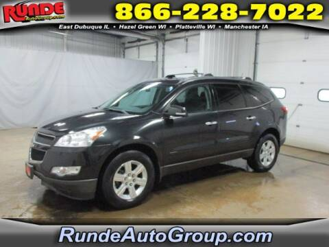 2011 Chevrolet Traverse for sale at Runde Chevrolet in East Dubuque IL