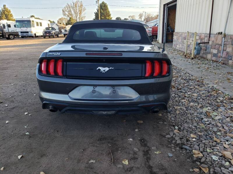 2018 Ford Mustang EcoBoost Premium 2dr Convertible - Mitchell NE