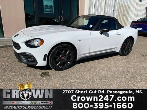 2017 FIAT 124 Spider for sale at CROWN  DODGE CHRYSLER JEEP RAM FIAT in Pascagoula MS