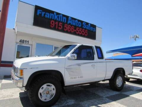 1994 Nissan Truck for sale at Franklin Auto Sales in El Paso TX
