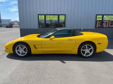 2001 Chevrolet Corvette for sale at Krantz Motor City in Watertown SD