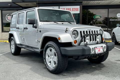 2012 Jeep Wrangler Unlimited for sale at Michaels Auto Plaza in East Greenbush NY