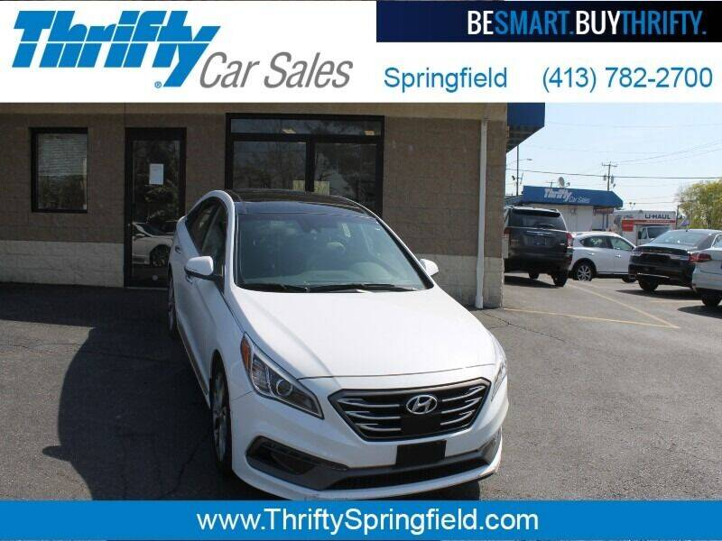 2017 Hyundai Sonata for sale at Thrifty Car Sales Springfield in Springfield MA