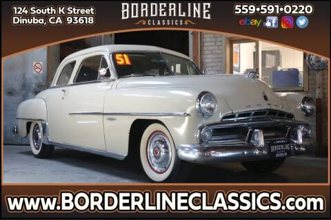 1951 Dodge Coronet for sale at Borderline Classics in Dinuba CA