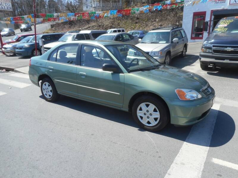 2003 Honda Civic for sale at Ricciardi Auto Sales in Waterbury CT