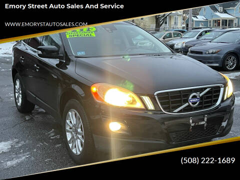 2010 Volvo XC60 for sale at Emory Street Auto Sales and Service in Attleboro MA