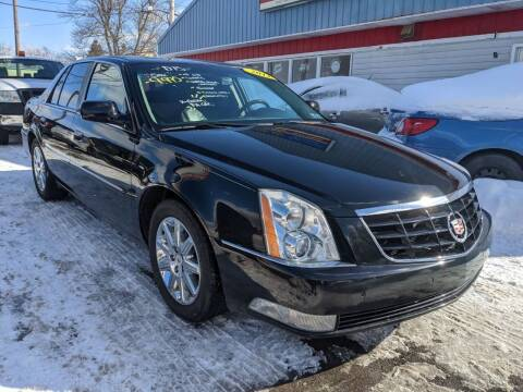 2011 Cadillac DTS for sale at Peter Kay Auto Sales in Alden NY