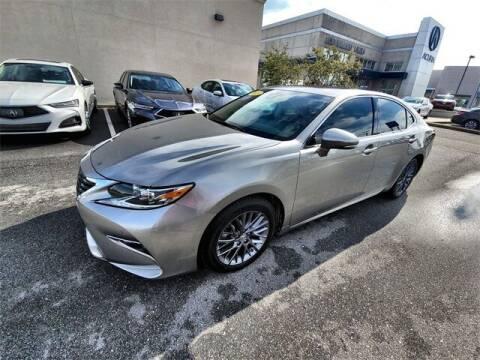 2018 Lexus ES 350 for sale at JOE BULLARD USED CARS in Mobile AL