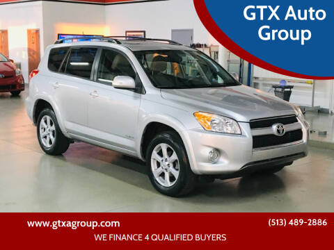 2011 Toyota RAV4 for sale at GTX Auto Group in West Chester OH