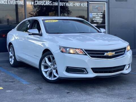 2017 Chevrolet Impala for sale at CARUCARS LLC in Miami FL