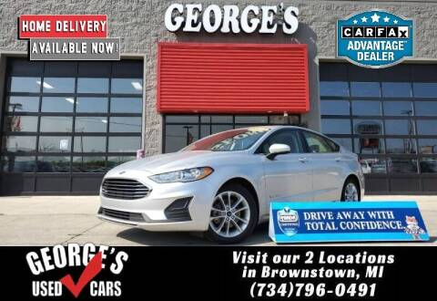2019 Ford Fusion Hybrid for sale at George's Used Cars - Telegraph in Brownstown MI