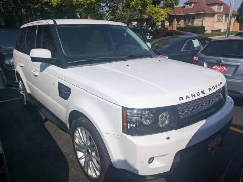 2012 Land Rover Range Rover Sport for sale at CLASSIC MOTOR CARS in West Allis WI