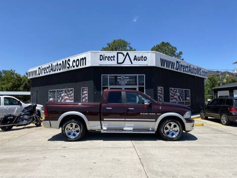 2012 RAM Ram Pickup 1500 for sale at Direct Auto in D'Iberville MS