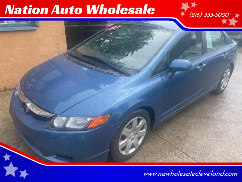 2011 Honda Civic for sale at Nation Auto Wholesale in Cleveland OH