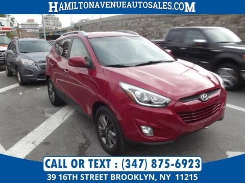 2015 Hyundai Tucson for sale at Hamilton Avenue Auto Sales in Brooklyn NY