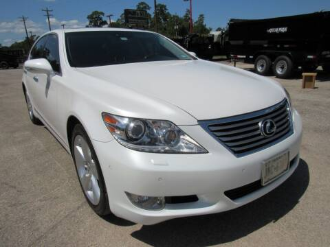 2012 Lexus LS 460 for sale at Park and Sell in Conroe TX