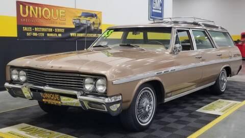 1965 Buick Sport Wagon for sale at UNIQUE SPECIALTY & CLASSICS in Mankato MN
