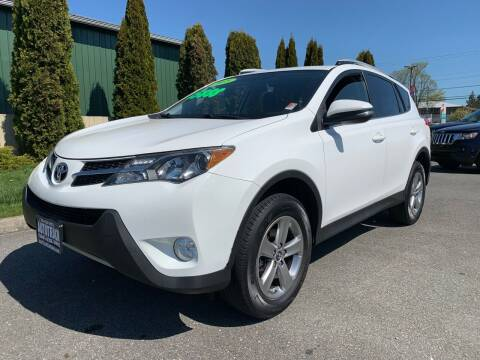 2015 Toyota RAV4 for sale at AUTOTRACK INC in Mount Vernon WA