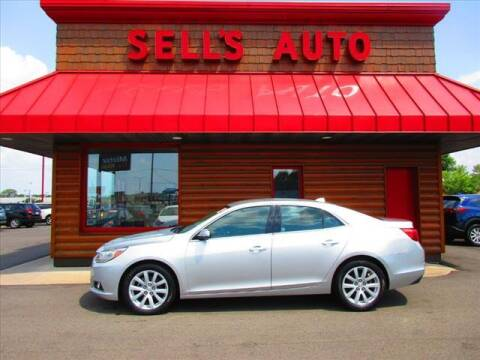 2014 Chevrolet Malibu for sale at Sells Auto INC in Saint Cloud MN