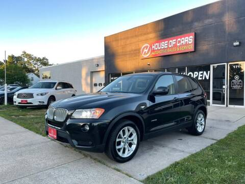 2012 BMW X3 for sale at HOUSE OF CARS CT in Meriden CT