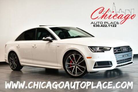 2018 Audi S4 for sale at Chicago Auto Place in Bensenville IL
