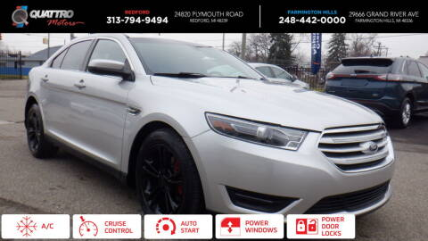 2015 Ford Taurus for sale at Quattro Motors 2 - 1 in Redford MI