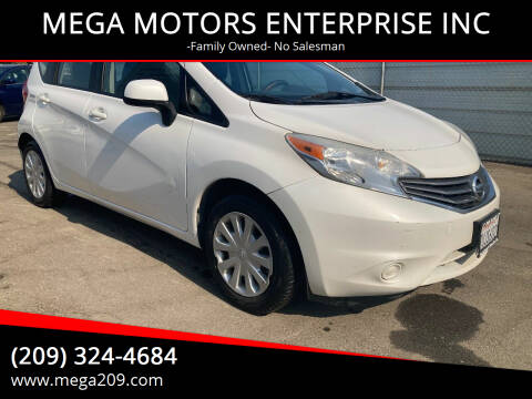2014 Nissan Versa Note for sale at MEGA MOTORS ENTERPRISE INC in Modesto CA