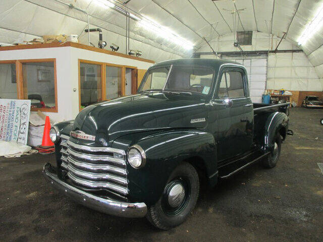1952 Chevrolet C/K 20 Series for sale at Auto Towne in Abington MA