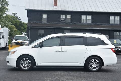 2011 Honda Odyssey for sale at Broadway Garage of Columbia County Inc. in Hudson NY