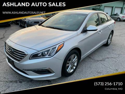 2015 Hyundai Sonata for sale at ASHLAND AUTO SALES in Columbia MO