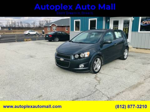 2013 Chevrolet Sonic for sale at Autoplex Auto Mall in Terre Haute IN