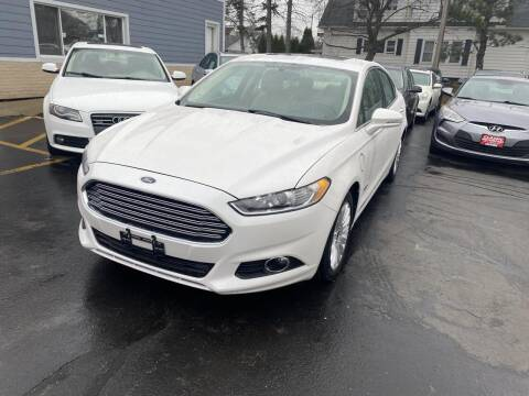 2014 Ford Fusion Energi for sale at CLASSIC MOTOR CARS in West Allis WI