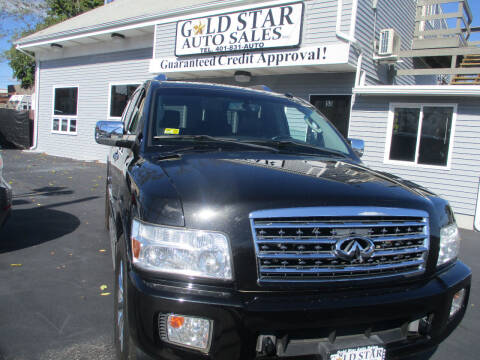 2008 Infiniti QX56 for sale at Gold Star Auto Sales in Johnston RI
