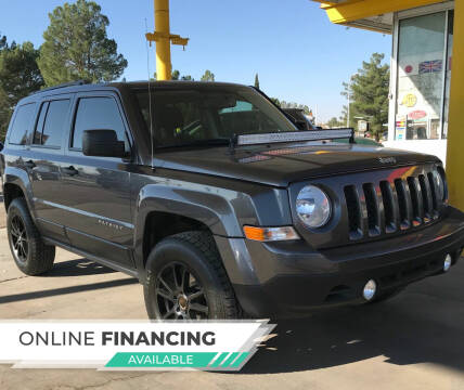 2017 Jeep Patriot for sale at Fiesta Motors Inc in Las Cruces NM
